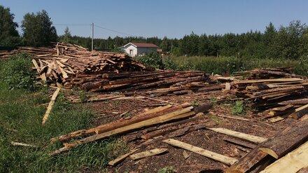 Жители посёлка под Воронежем забили тревогу из-за опасной лесопилки