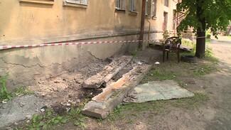 В Воронеже директор УК отделался штрафом за обрушение балкона с двумя женщинами