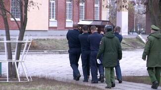 В Воронеже простились с расстрелянными на Балтиморе военными