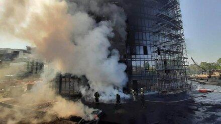 Ущерб от пожара в элитном воронежском ЖК Atlantis оценили в 8 млн