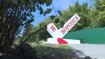Знак «Я люблю Воронеж» сломали ради «лайков» в соцсетях