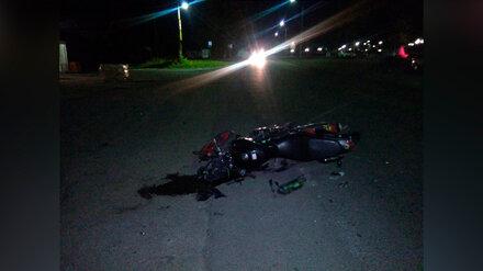 В Воронежской области за сбитого 14-летнего байкера накажут его отца и водителя легковушки