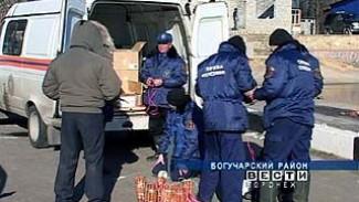 Спасатели приступили к ликвидации ледяных заторов на реках