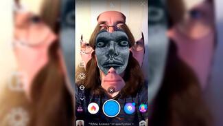 Воронежский фотограф создал в Instagram жуткую маску с лицом Алёнки