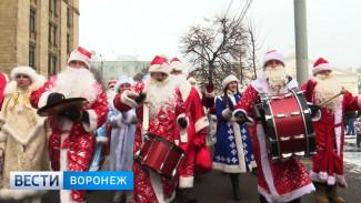 Дед Мороз из Конго и смайл из персонажей. Как в Воронеже прошёл новогодний парад