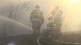 В Воронеже из-за ночного пожара в общежитии пострадал человек