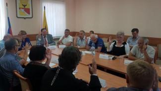 Общественная палата Воронежа отсеяла лишних кандидатов в Почётные граждане