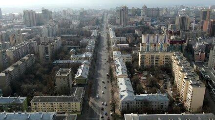 Воронежские дороги опустели в первый день всеобщего дистанта