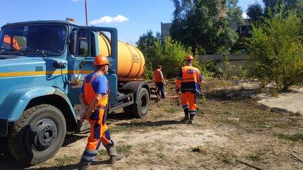 Два района Воронежа и пригород частично остались без воды из-за утечки на водоводе