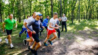 Нововоронежские атомщики пробежали весенний легкоатлетический кросс