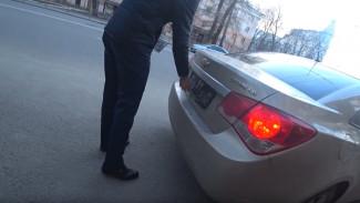 Воронежцы стали массово снимать номера в ожидании штрафов за платную парковку