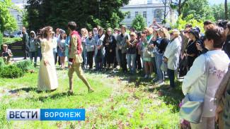 Итальянские актёры сыграли «Ромео и Джульетту» на улицах Воронежа
