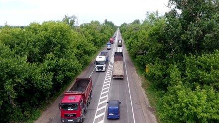 Дорожники объяснили появление на трассе под Воронежем самой длинной «сплошной» в России