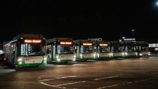 В Воронеж прибыли ещё 30 современных низкопольных автобусов