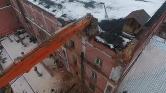 В Воронеже начали снос одного из последних зданий архитектора Замятнина