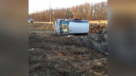 Двое детей и 6 взрослых пострадали в ДТП на воронежской трассе