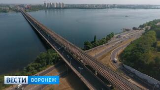 Ремонт пешеходной части Северного моста в Воронеже могут завершить раньше срока