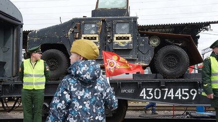 Спецпоезд Минобороны остановился в Воронеже