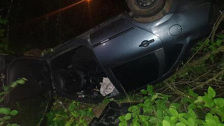 В Воронеже в перевернувшейся «Ладе» пострадал водитель