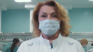 Воронежская врач и худрук Никитинского театра записали ролик о важности ношения масок