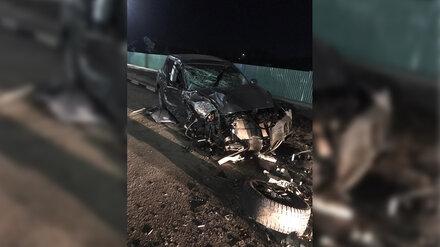 Под Воронежем пьяный парень на BMW разбил Porsche и сбежал