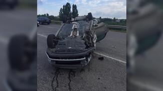 Под Воронежем в массовом ДТП пострадала семья с 3-летним ребёнком