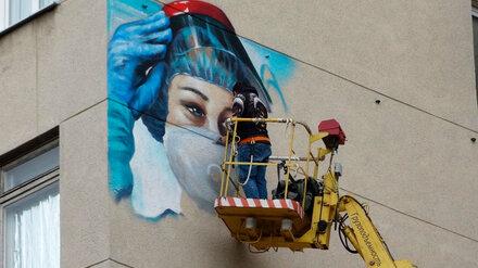 В Воронеже появится граффити в честь борющихся с COVID медиков