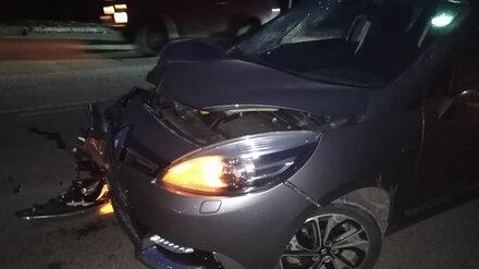 Под Воронежем иномарка сбила пенсионерку возле пешеходного перехода