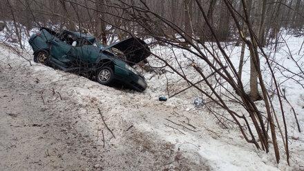 Возле Воронежского заповедника разбился насмерть 37-летний автомобилист