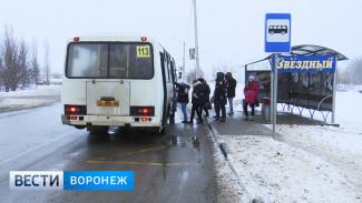Автобус №113 в Воронеже изменит маршрут