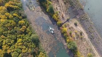 В Воронежской области расчистка реки Икорец приблизилась к завершению