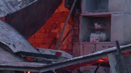 В воронежском посёлке при пожаре в многоквартирном доме погиб мужчина