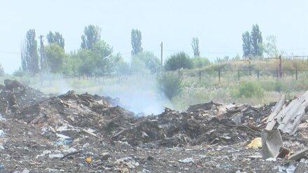 В райцентре Воронежской области уберут огромную незаконную свалку