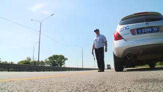 На воронежском участке М-4 из-за пробок запретили движение фур