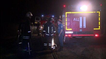 В Воронежской области при пожаре в 9-квартирном доме погибла женщина