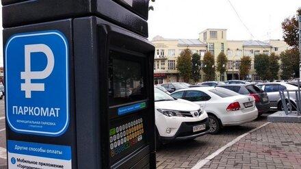 Власти рассказали о работе платных парковок в Воронеже на майских праздниках