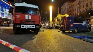 В Воронеже на место взрыва автобуса для следственного эксперимента пригнали другой ПАЗ