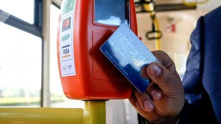 В Воронеже вернулись к идее создания транспортных карт для оплаты проезда в маршрутках