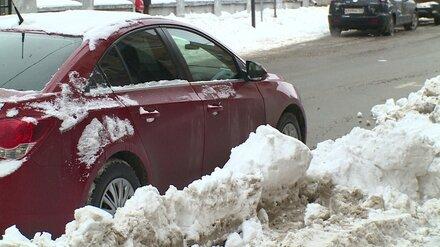 В Воронеже отказались делать бесплатными парковки в снегопад