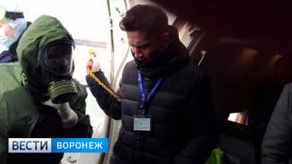 Новые подробности посадки самолёта с «пассажиром с холерой» в воронежском аэропорту