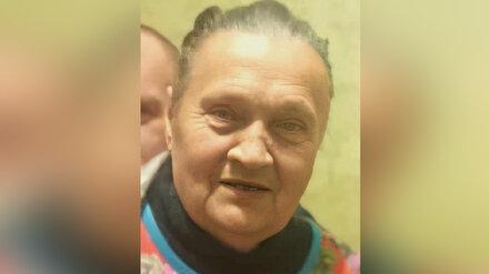 В Воронежской области разыскивают пропавшую пенсионерку