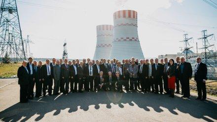 Нововоронежскую АЭС посетили советники ЦК ВЛКСМ, работавшие в Афганистане