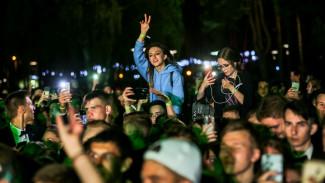 Первый в Воронеже общегородской выпускной обошёлся без происшествий