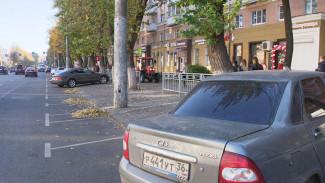 Пустые улицы, забитые дворы и маршрутки: как изменили Воронеж платные парковки