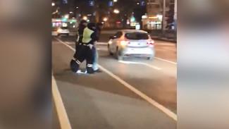 В Воронеже полиция устроила погоню за пьяным водителем Mercedes
