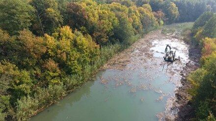 Реку Савала в Воронежской области расчистят к октябрю 2022 года