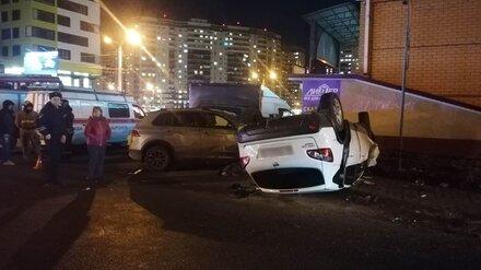 Участником массового ДТП с погибшей на Шишкова в Воронеже оказался пьяный водитель