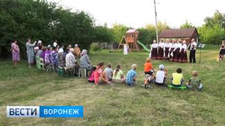 Жители воронежского села бросили огороды ради живой музыки