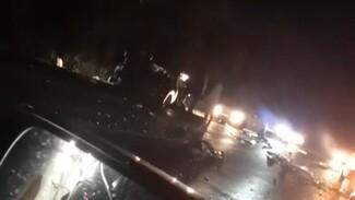 Автомобилистка погибла в массовом ДТП в Воронежской области