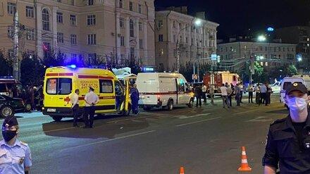 Власти окажут матпомощь пострадавшим при взрыве маршрутки в центре Воронежа